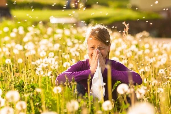 allergia bambini campo