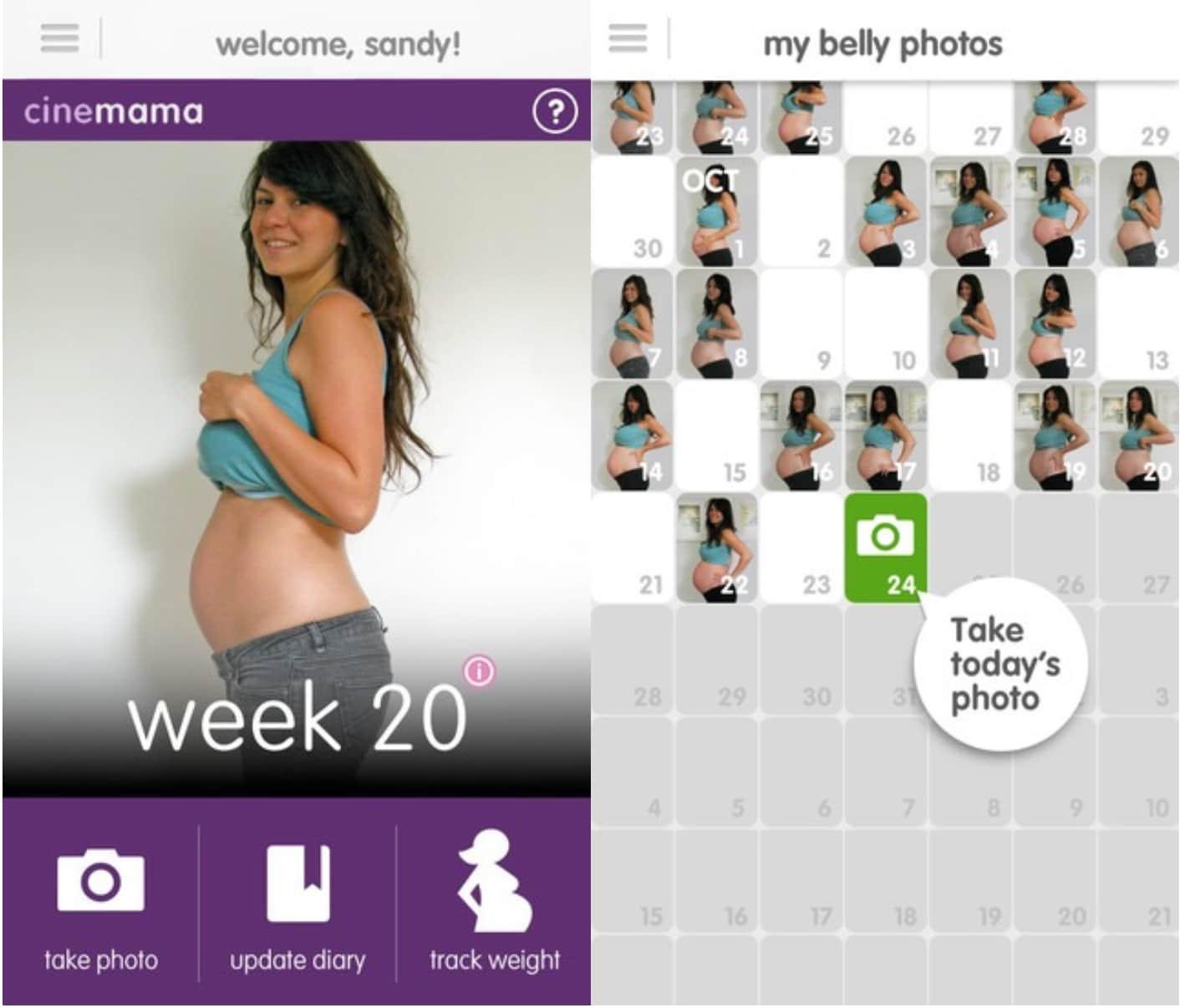 Calendario Maya Gravidanza.Gravidanza 8 App Da Scaricare Sullo Smartphone