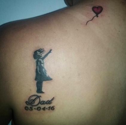 Estremamente Tatuaggi, ecco qualche idea per ricordare il proprio papà  YF09