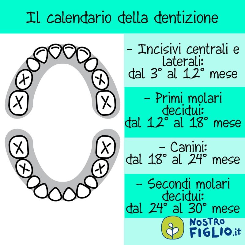 Calendario Dentini.Denti E Bambini Ecco Le Risposte Alle Domande Delle Mamme E