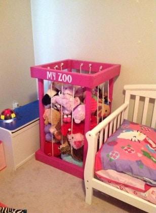 42 idee geniali per organizzare la cameretta del bambino ...