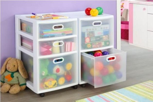 Mobili Portagiochi Per Bambini : 30 idee geniali per tenere in ordine i giochi dei bambini