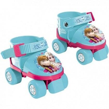 pattini-a-rotelle-frozen-regolabili-con-protezioni-e-casco