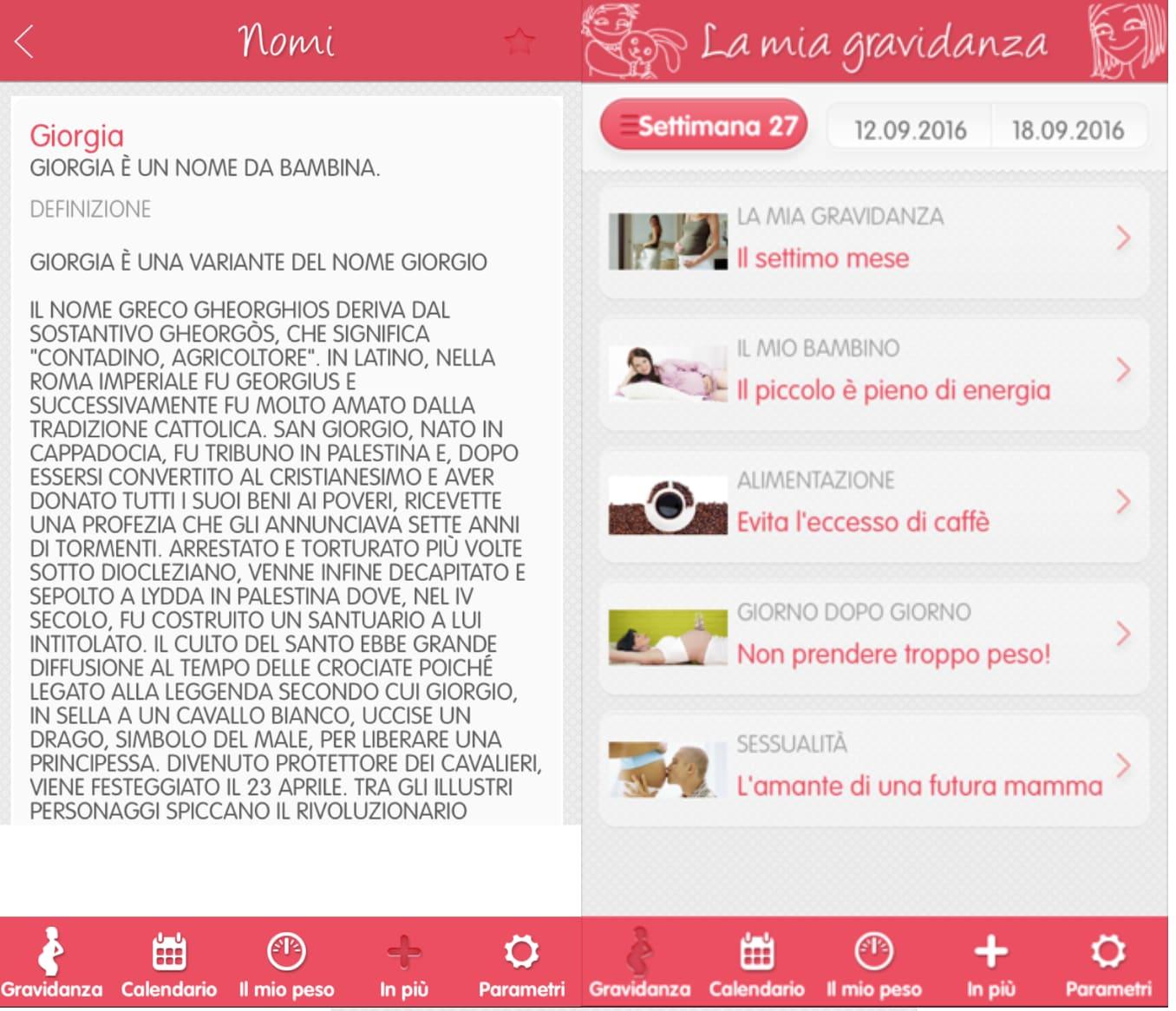 Calendario Delle Settimane Di Gravidanza.Gravidanza 8 App Da Scaricare Sullo Smartphone
