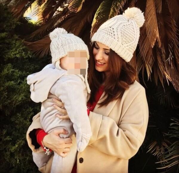 Alessia Spagnulo e figlia