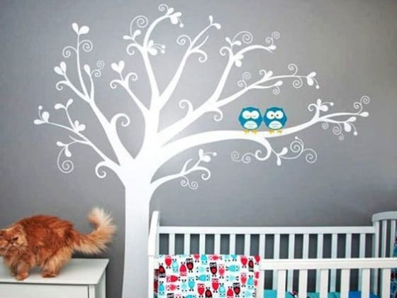 20 idee per decorare la camera del bambino - Decorare la cameretta del neonato ...