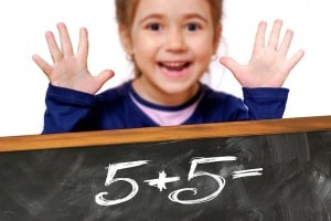 bambina-matematica