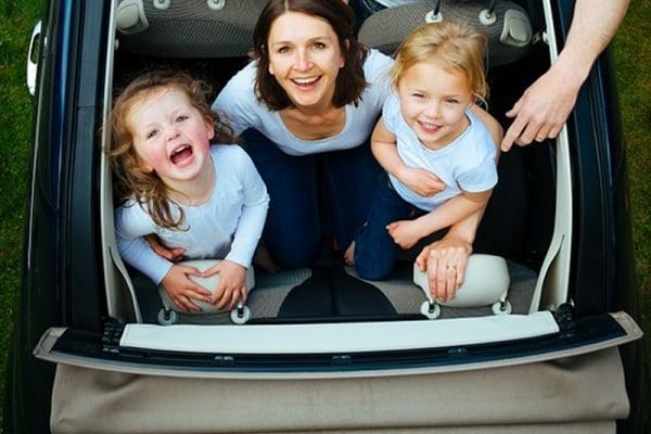 I giochi per bambini da fare in macchina