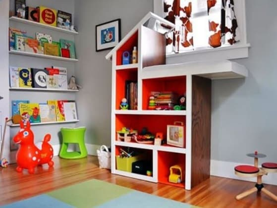 Mobili Per Giochi Bambini : Idee geniali per tenere in ordine i giochi dei bambini