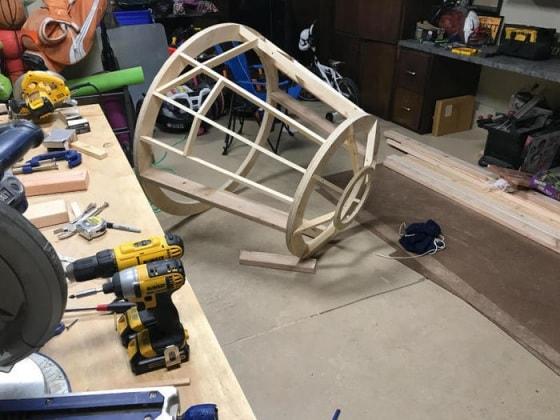Camera Da Letto Star Wars : Sogni stellari papà tuttofare costruisce per il figlio un letto