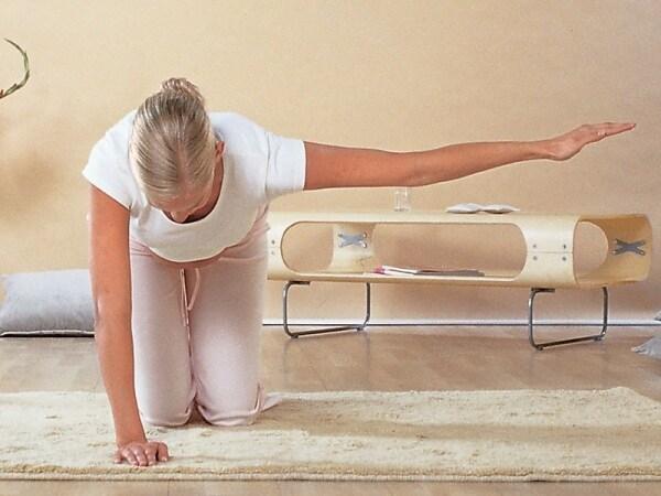 Esercizi per la schiena in gravidanza