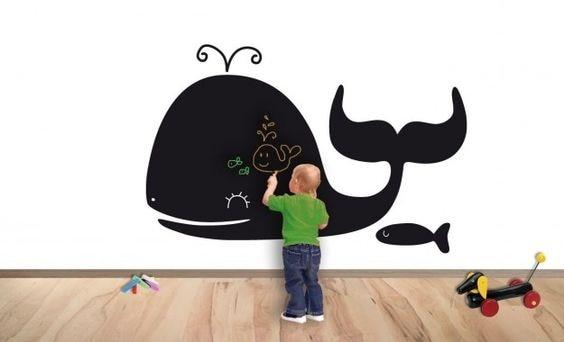 20 idee per decorare la camera del bambino for Cose per decorare la camera