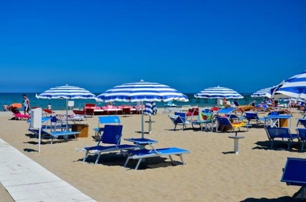 Matrimonio Spiaggia Margherita Di Savoia : Spiagge per bambini le bandiere verdi dell emilia