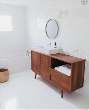 Come abbinare lo stile moderno con il vintage il mix - Regalare uno specchio porta male ...