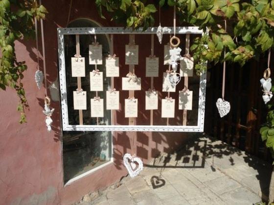 Tableau Matrimonio In Legno : Idee originali per il tableau de mariage nostrofiglio