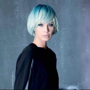 capelli azzurri
