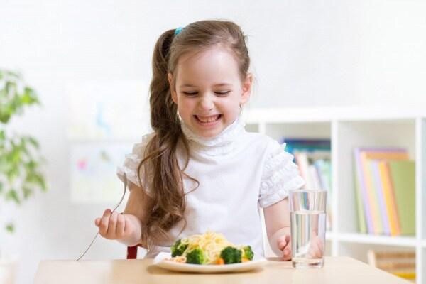 cena per bambini a dieta leggera