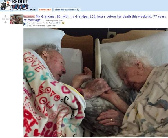 77 anni matrimonio
