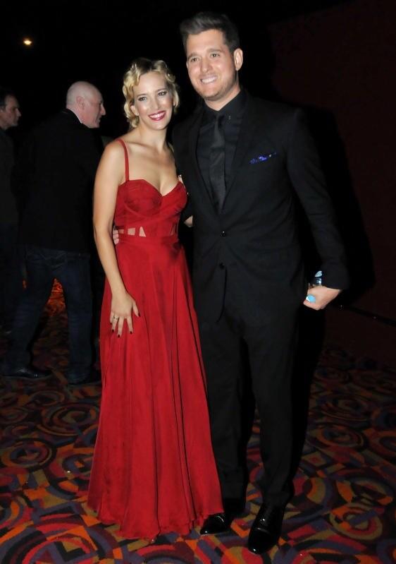 Michael Bublè e Luisana Lopilato