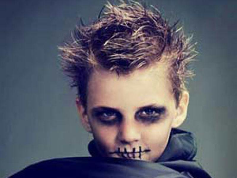 Molto Halloween: i trucchi per i bambini fai da te da strega, vampiro e  TP57