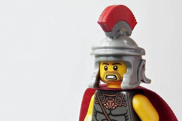 Gladiatore giocattolo