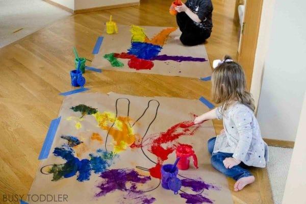 20 Lavoretti Per Educare I Bambini Alla Pittura Nostrofiglioit