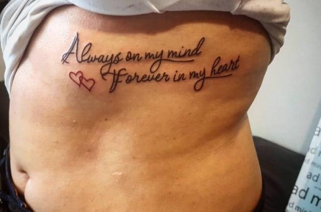 Molto 25 tatuaggi con FRASI e citazioni a effetto - Nostrofiglio.it KL85