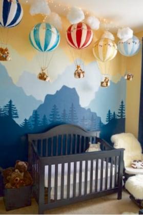 Cameretta neonato idee disegno idea camerette neonato for Idee pareti cameretta neonato