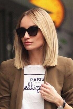 Tagli capelli medi 2018 lisci
