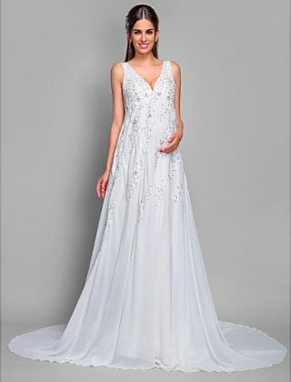 free shipping c4150 3d93b Gli abiti più belli per le spose premaman del 2017 ...