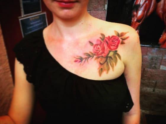 Tattoo Spalla Anteriore Of 25 Tatuaggi Femminili Per La Spalla Pi O Meno Piccoli
