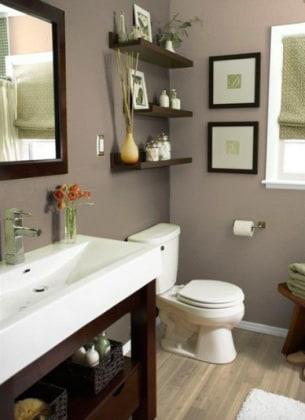 Color tortora il passepartout per una casa che ha personalit - Bagno color tortora ...