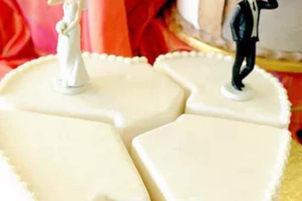 Torte di divorzio: le foto più irriverenti