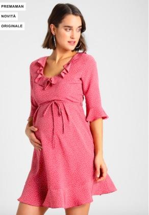 b8dfddf069cc Romantico e femminile l abito rosa con maniche sotto il gomito