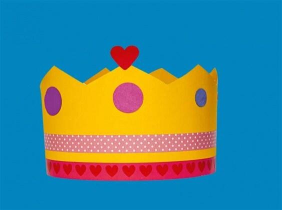 Estremamente Lavoretto per bambini: una corona per la mamma! - Nostrofiglio.it PT02