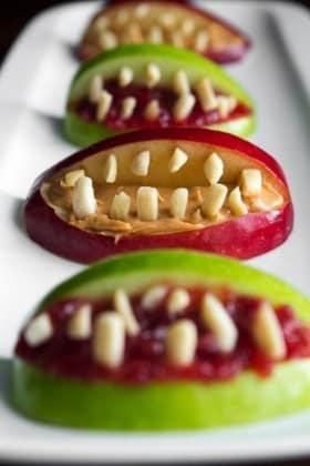 64-non-candy-halloween-snack-ideas-apple-bites