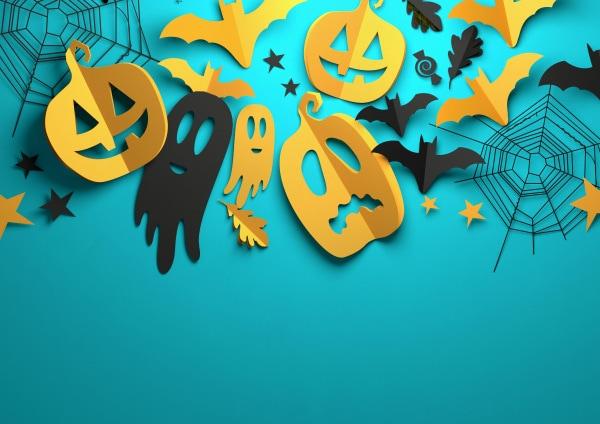 lavoretti halloween scuola infanzia cartoncini