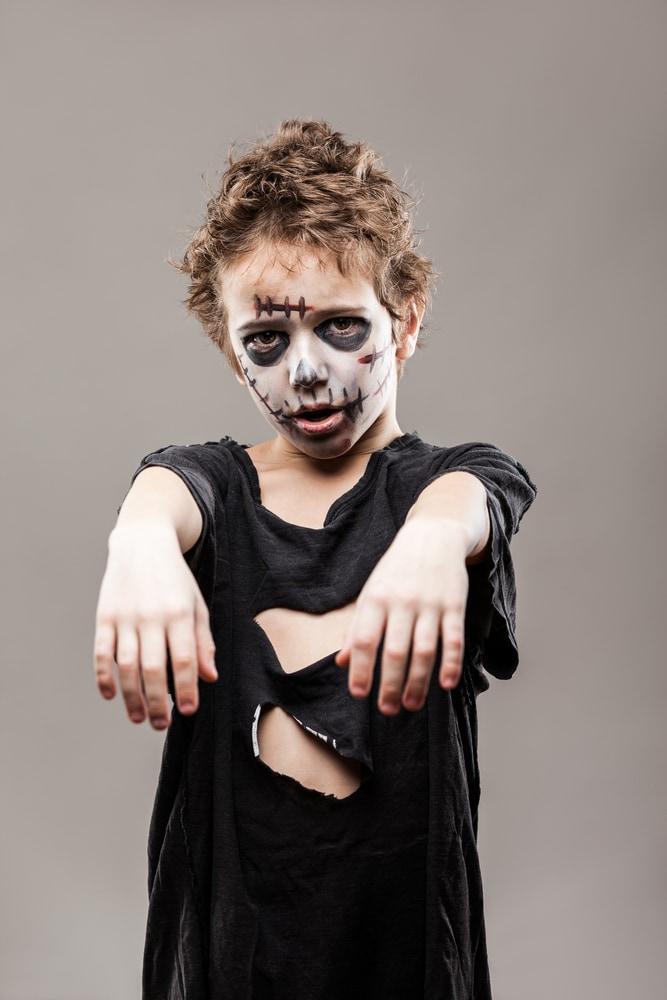 Trucco da zombie per bambini  i più spaventosi - Nostrofiglio.it e4aa3edad8f5