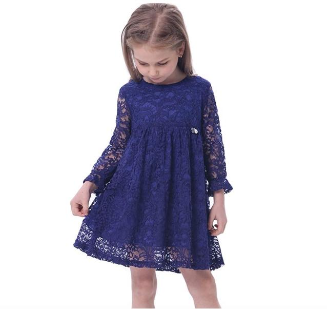competitive price 95af0 dbb7d I vestiti eleganti per bambina - Nostrofiglio.it