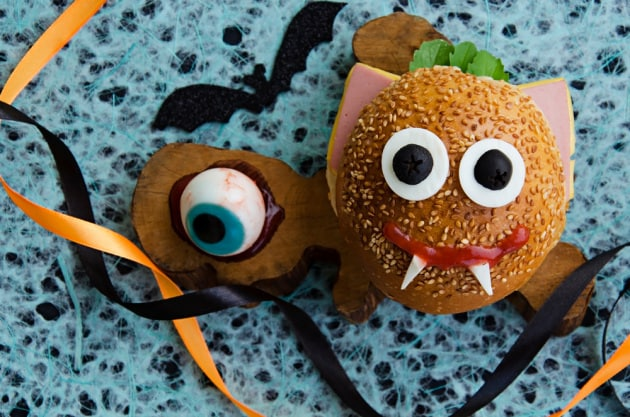 snackhalloweenhamburger