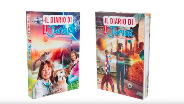 c6b55cce03 In una doppia versione a scelta il diario per bambini e bambine di Focus  junior