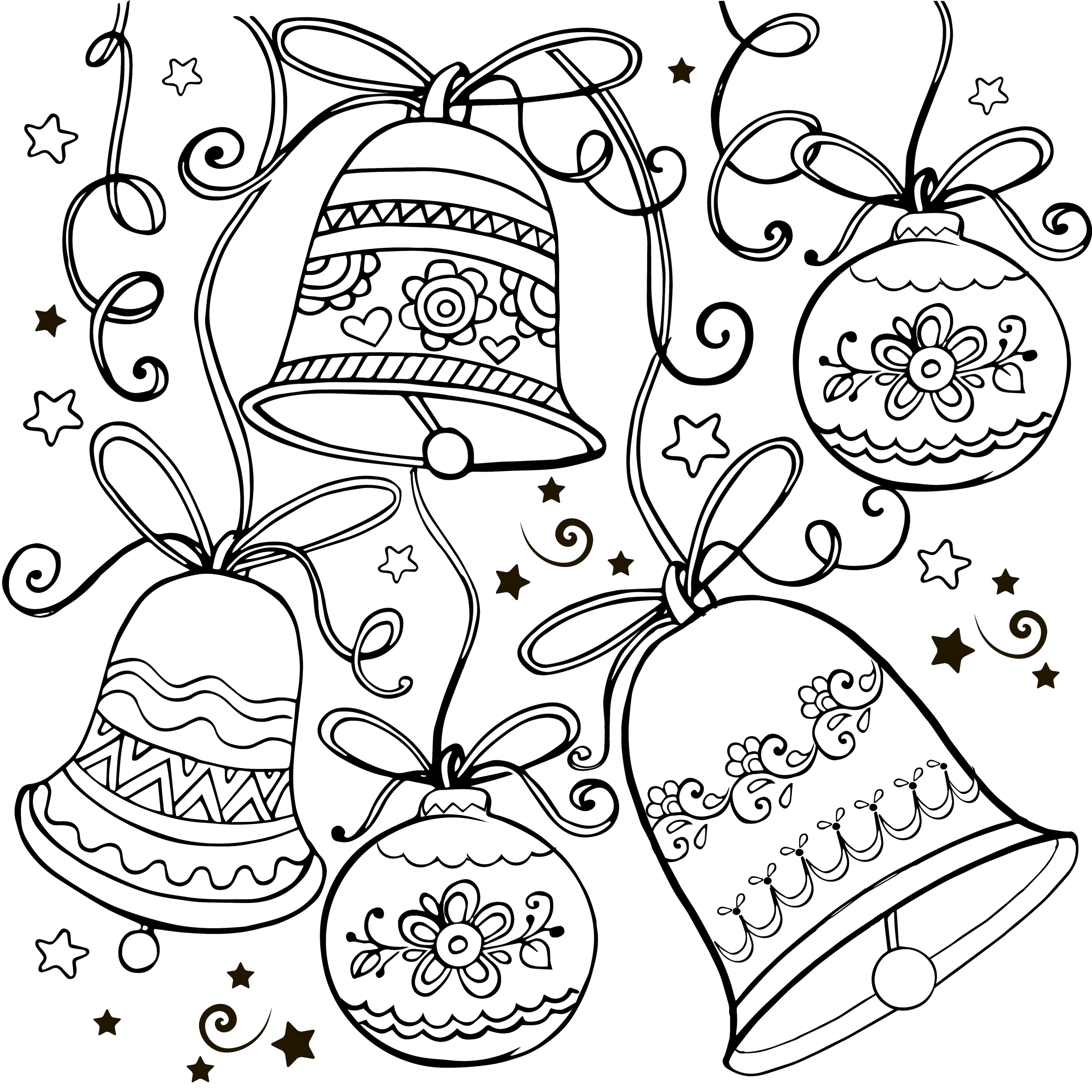 Natale Disegni Per Bambini Da Colorare Nostrofiglioit
