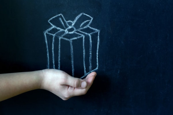 Regali maestre Natale