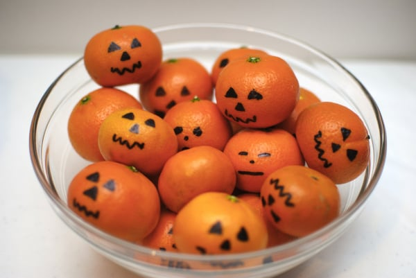 snack halloween festa bambini