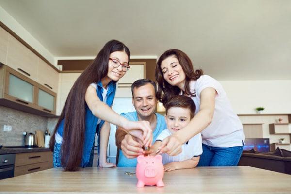 risparmio in famiglia