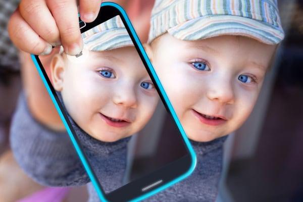 selfie bambini