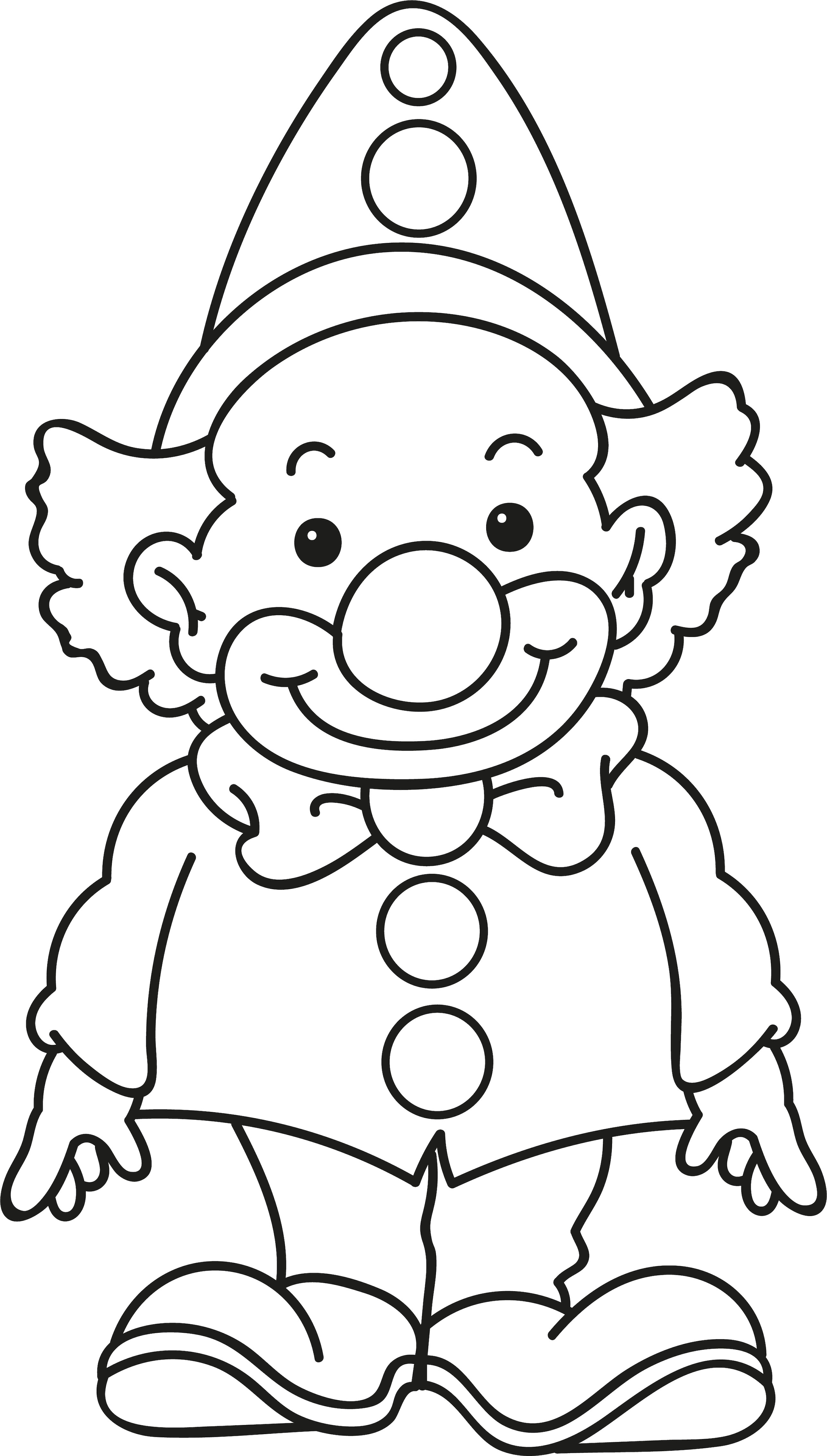 Disegno Di Brighella Stilizzato Da Colorare Per Bambini Primaria