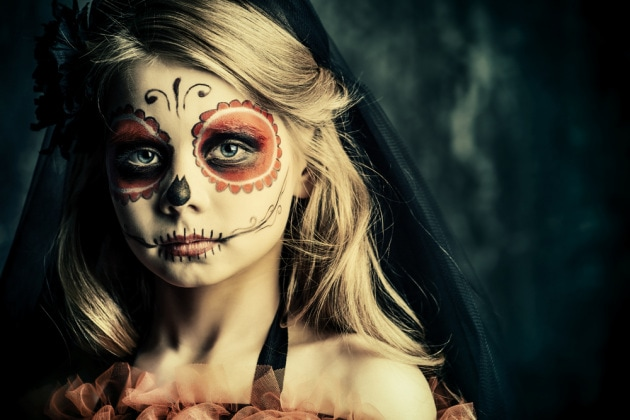20 trucchi terrificanti di Halloween per il tuo bimbo ...