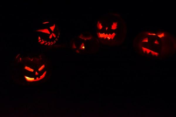 lavoretti halloween scuola infanzia portacandele