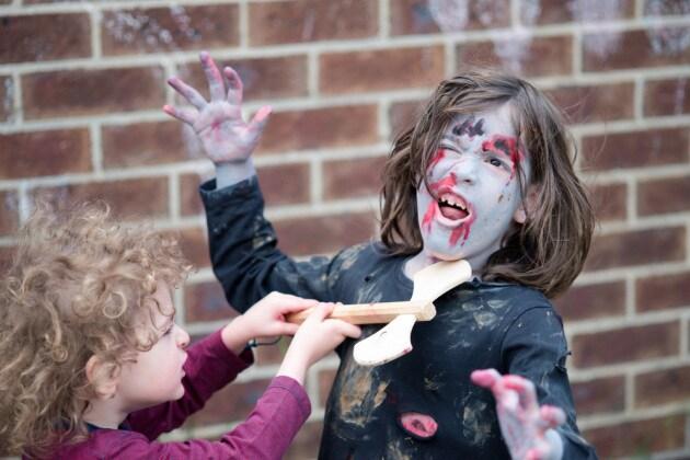 cerca l'originale davvero comodo 2020 Trucco da zombie per bambini (FOTO) - Nostrofiglio.it